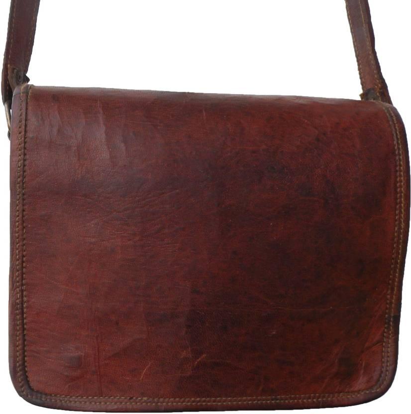 ba42672528 Buy Antarmana Shoulder Bag Dark Brown Online   Best Price in India ...