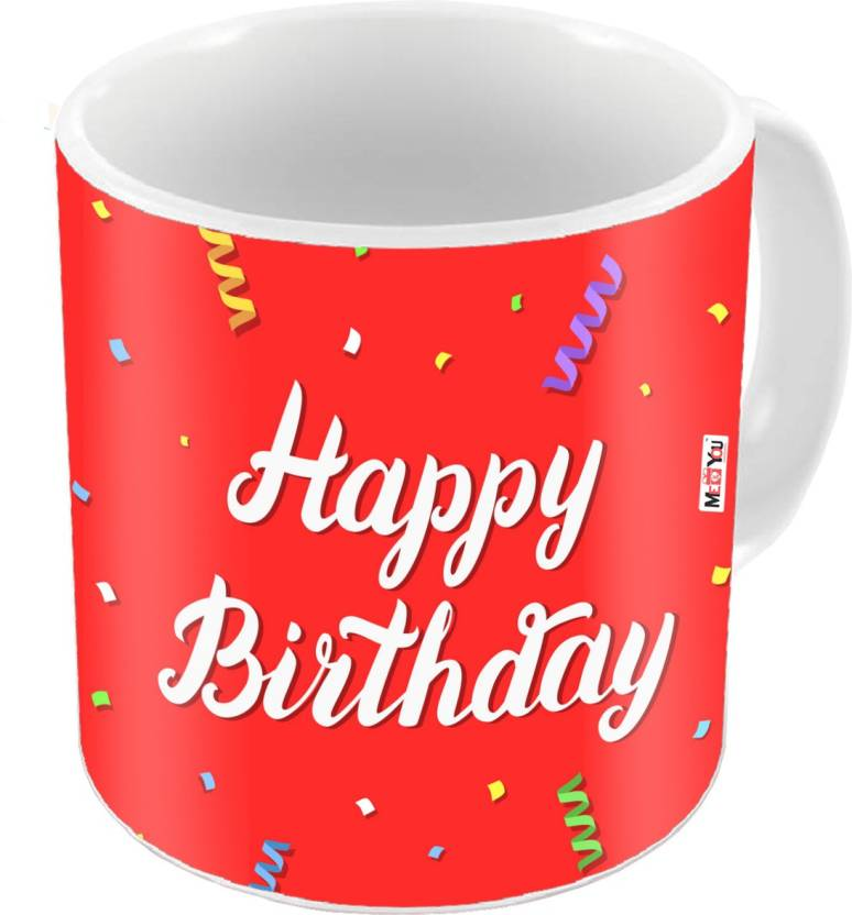 MEYOU Gift For Brother Sister Father Mother Friends On Birthday Gifts IZ18DTMU 428 Ceramic Mug 325 Ml