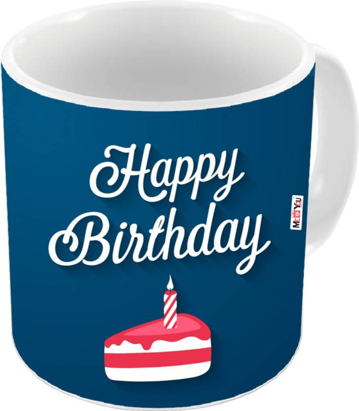 MEYOU Gift For Brother Sister Father Mother Friends On Birthday Gifts IZ18DTMU 352 Ceramic Mug 325 Ml
