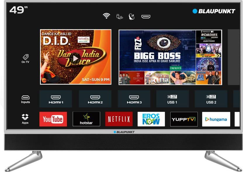 Blaupunkt 124cm (49 inch) Ultra HD (4K) LED Smart TV with In-built Soundbar