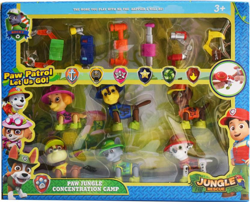 Kiditos Jungle Rescue Concentration Camp Action Figure Toy - Jungle