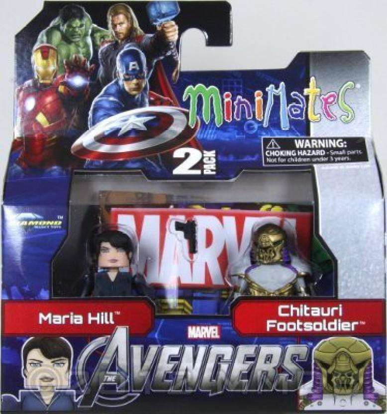 Marvel Minimates Series 45 Avengers Movie Chitauri Footsoldier