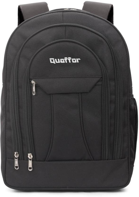 876f034d17 quaffor Stylish modern Laptop Bag For Men Woman Waterproof School Bag  (Black