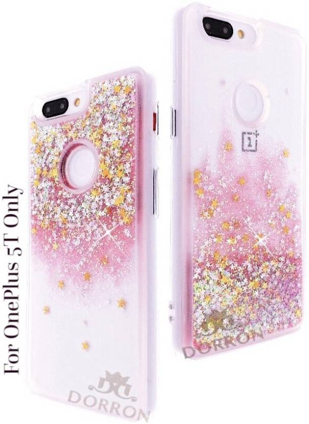 newest 5c1ed e138a DORRON Back Cover for OnePlus 5T / 1+5T Glitter Bling Stylish ...