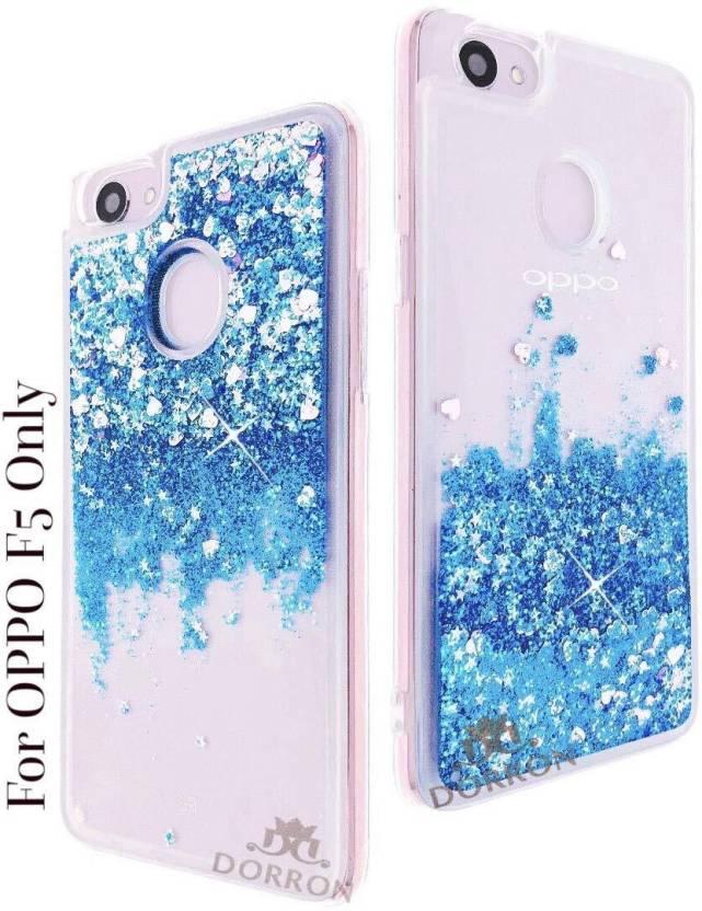 DORRON Back Cover for OPPO F5 Glitter Stylish Designer