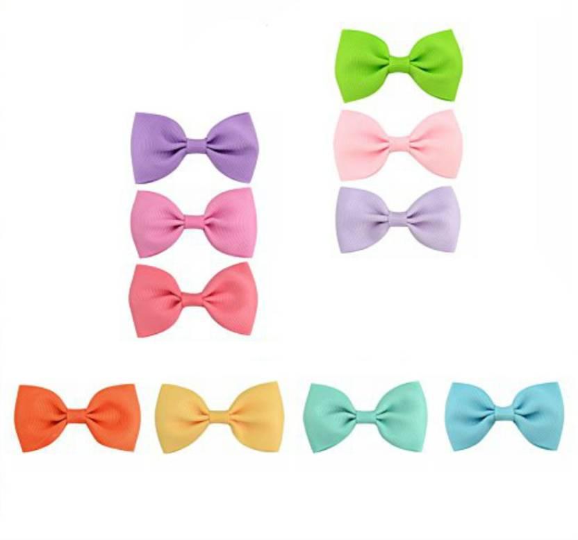 1a9e451bdfcbb Shrih Baby Girls Solid Candy Colors Grosgrain Ribbon 2.75