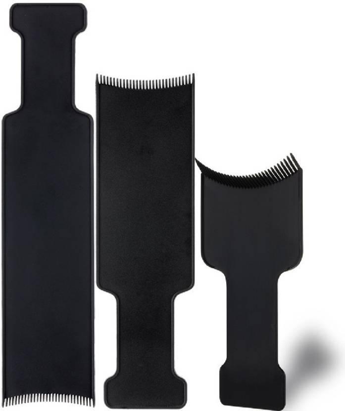 DALUCI 3pcs/set Fashion Hairdressing Hair Applicator Brush Hair ...