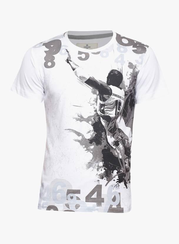 5ea96f952 Crimsoune Club Boys Graphic Print Cotton T Shirt (White, Pack of 1)