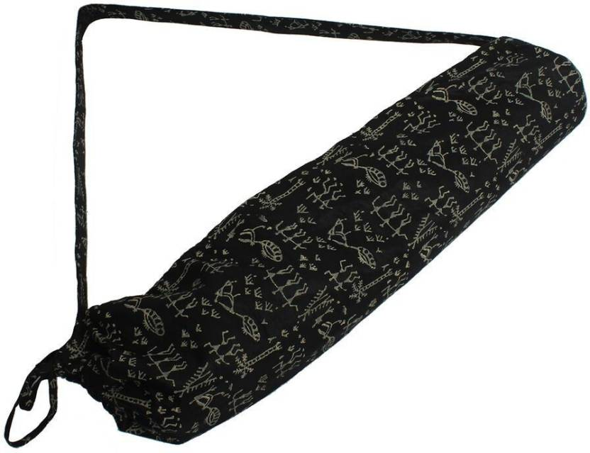 Tyistore Black Colour Rhapsody Theme Mat Cover Yoga Mat Bag Buy