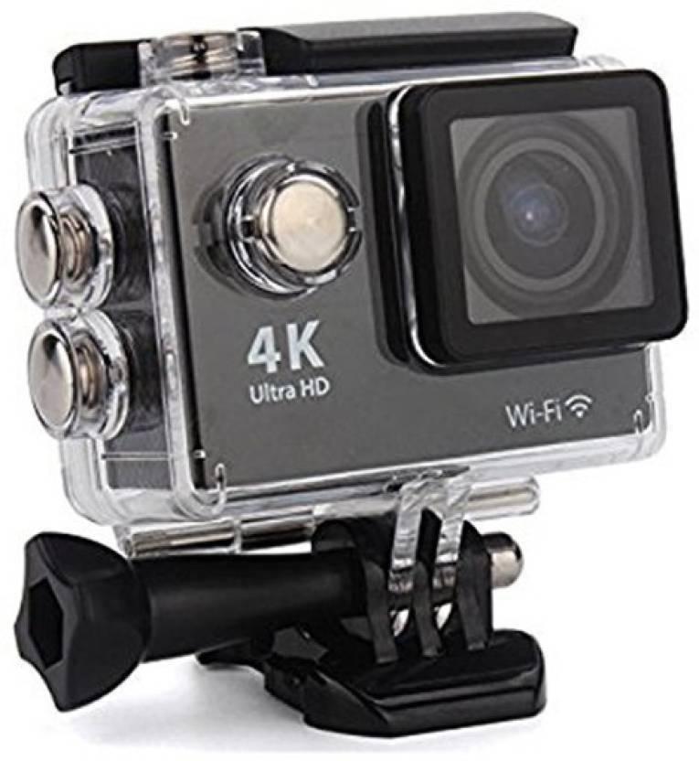 5e5837cabca CALLIE 4k Camera 4K Ultra HD 16 MP WiFi Waterproof Action Camera Sports and Action  Camera (Black 12 MP)