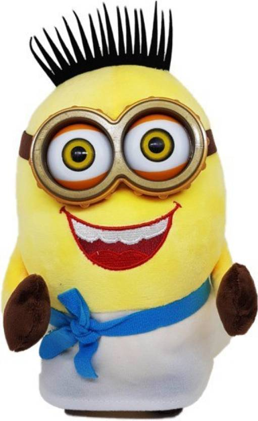 Charms Gift Basket Minion Soft Toy For Kids Latest Edition - 25 cm (Yellow)