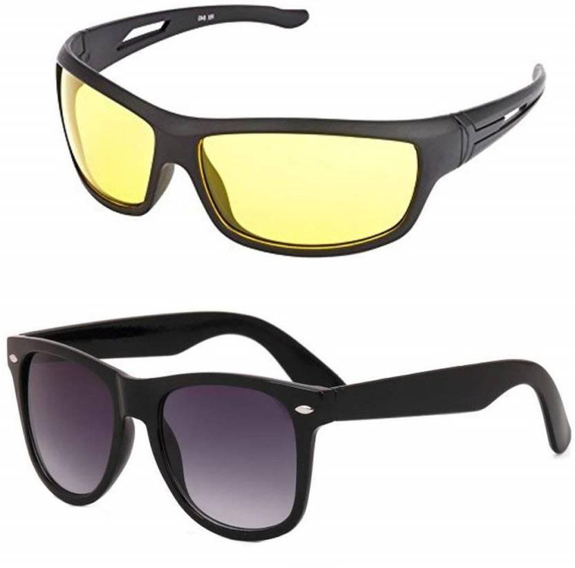 8488eff7ffe Buy Ivonne Wrap-around Sunglasses Yellow