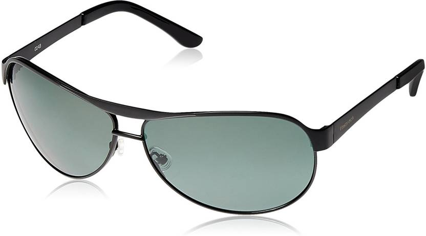 43f0b0fa06 Buy Fastrack Oval Sunglasses Green For Men   Women Online   Best ...