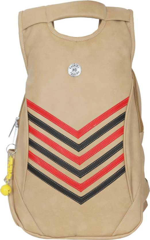 FD Fashion Trendy 5 kg Backpack Beige - Price in India  f0a66675507ea
