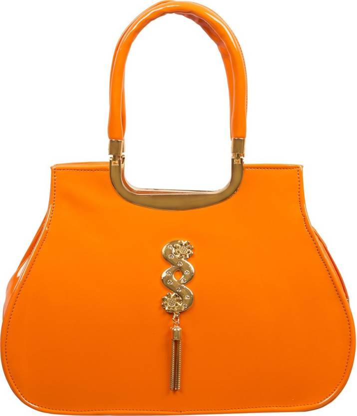 f5a0fc85560f Buy Louise Belgium Messenger Bag Orange Online   Best Price in India ...