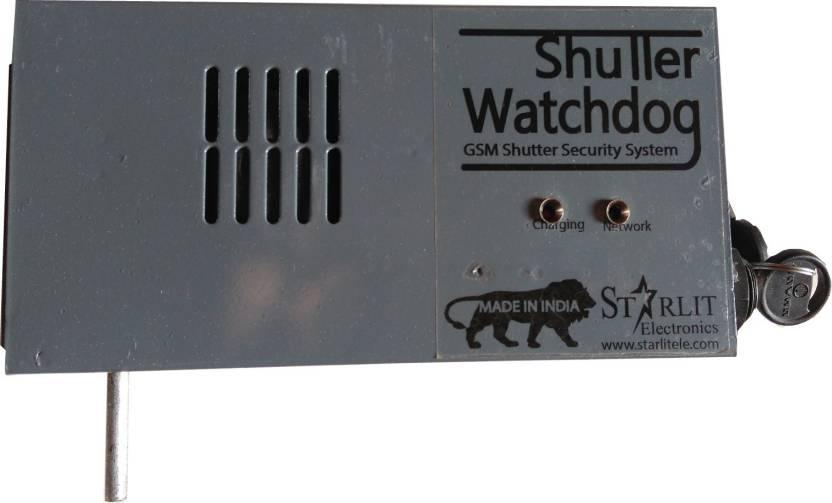 starlit electronics SHUTTER WATCHDOG GSM Shutter Security System GSM