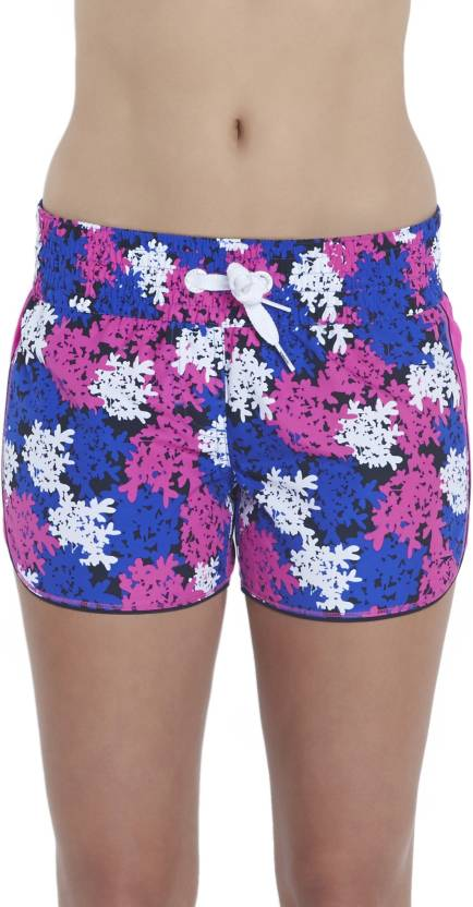 b5fc3c9ea636c Speedo Floral Print Women's Blue, White Swim Shorts - Buy Speedo Floral  Print Women's Blue, White Swim Shorts Online at Best Prices in India |  Flipkart.com