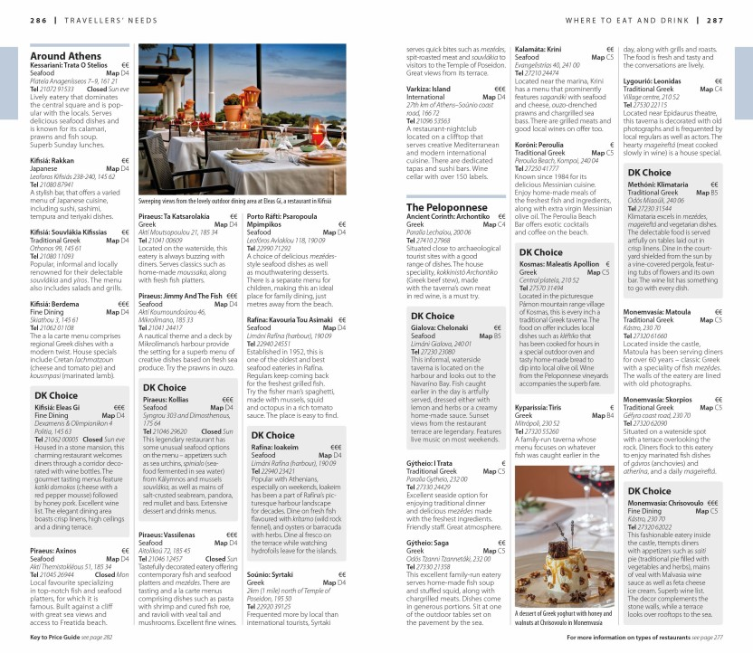 Athens /& the Mainland DK Eyewitness Travel Guide Greece