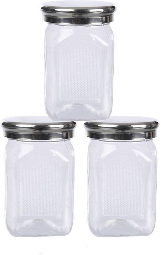 e672f5c36 Container Best Cook Kitchen Storage Plastic Container Set Of 3 - 500 ml  Plastic Grocery Container, ...