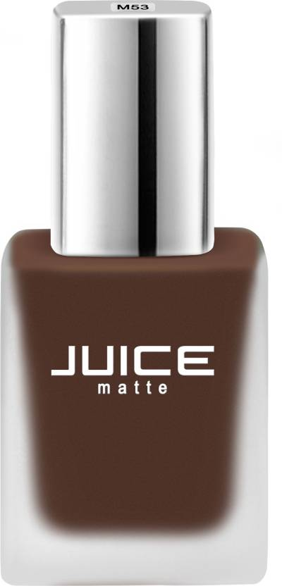 Juice Warm Brown Matte Nail Colour Velvet Collection 11 Ml