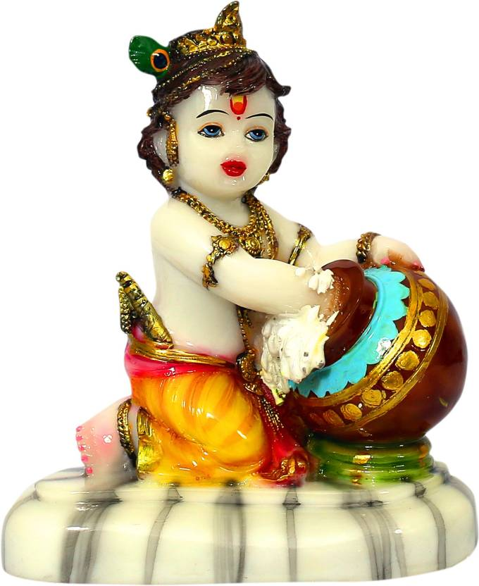 Grace n Galore Beautiful Lord Krishna Makhan Chor | Baby