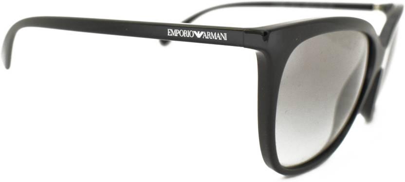 ddfa2f1235b50 Buy Emporio Armani Cat-eye Sunglasses Grey For Women Online   Best ...