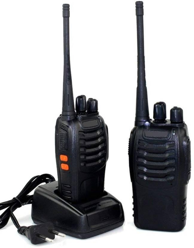 Mobone 2 Pcs Walkie-Talkie Vhf/UHF FM Transceiver Portable