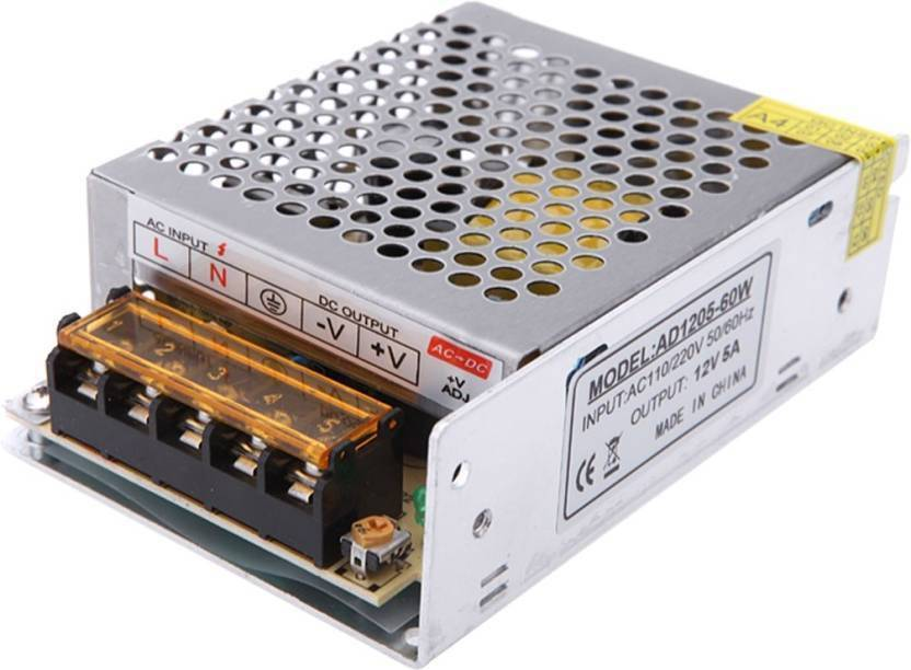 SP SHIELD PLUS 12 Volt / 5 Amp DC Output Power Supply High