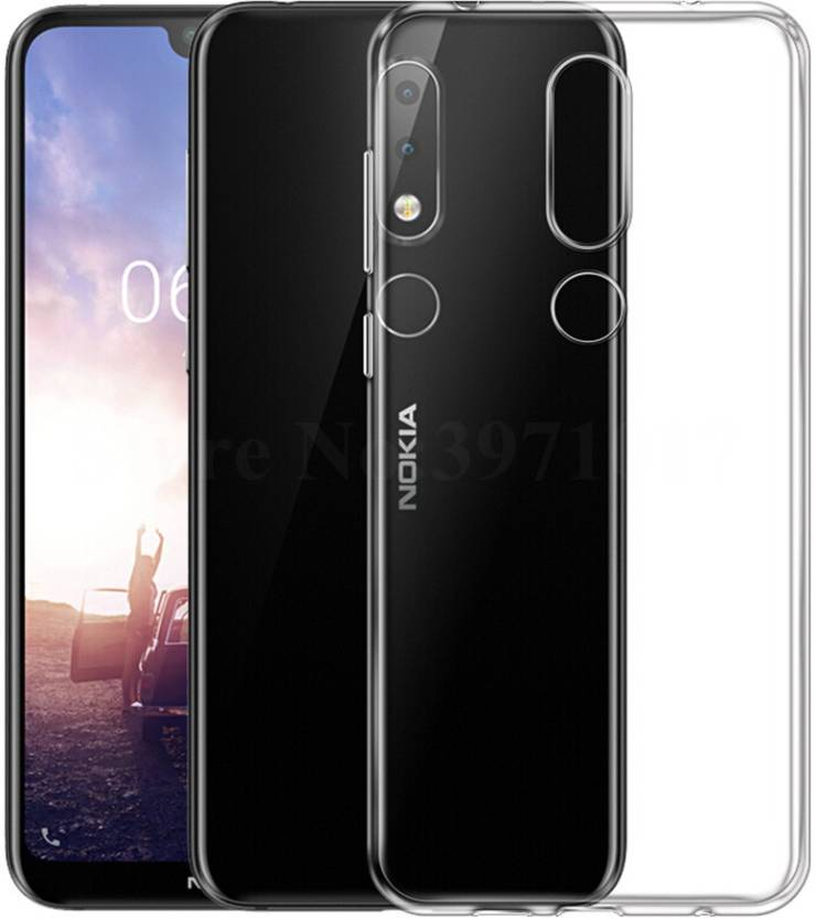 watch b603f 534c7 Treecase Back Cover for Nokia 6.1 Plus 2018 Transparent Cover / Nokia 6.1  plus 2018