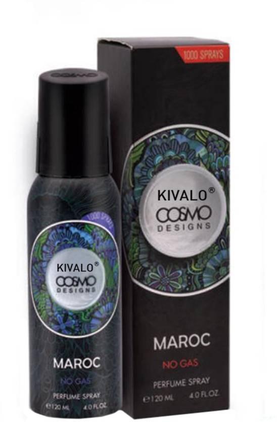 Kivalo Maroc Cosmo Pure Original Perfume Deodorant Spray 120 Ml