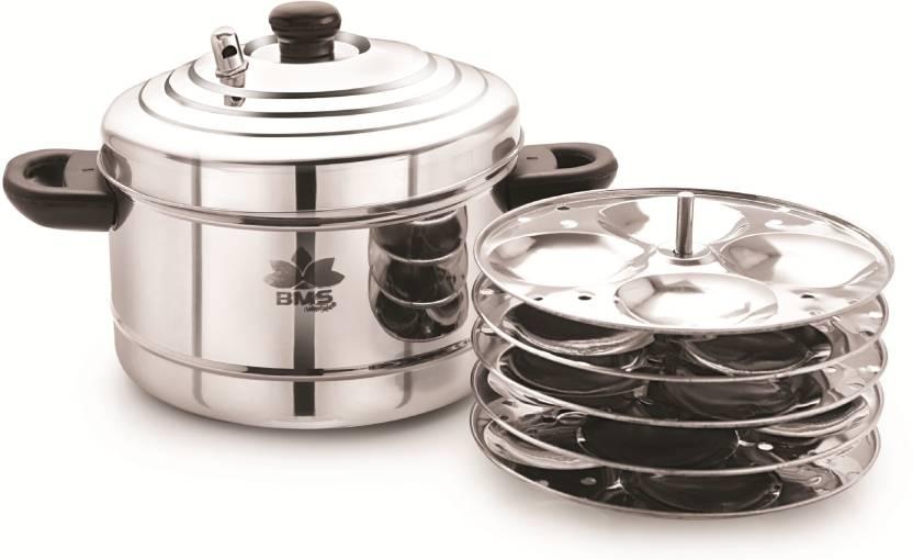 b68622f67c BMS Lifestyle 5Plates Idly Maker / Cooker Standard Idli Maker (5 Plates ,  20 Idlis )