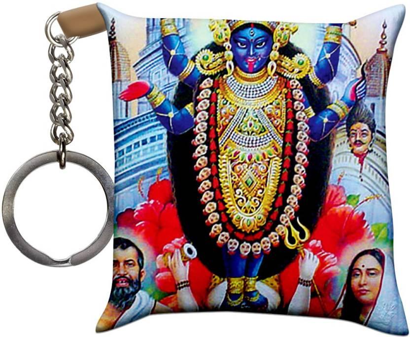 Crazyink Dhakkhineshwar Kali Maa Soft Cushion Pillow Key Chain Price