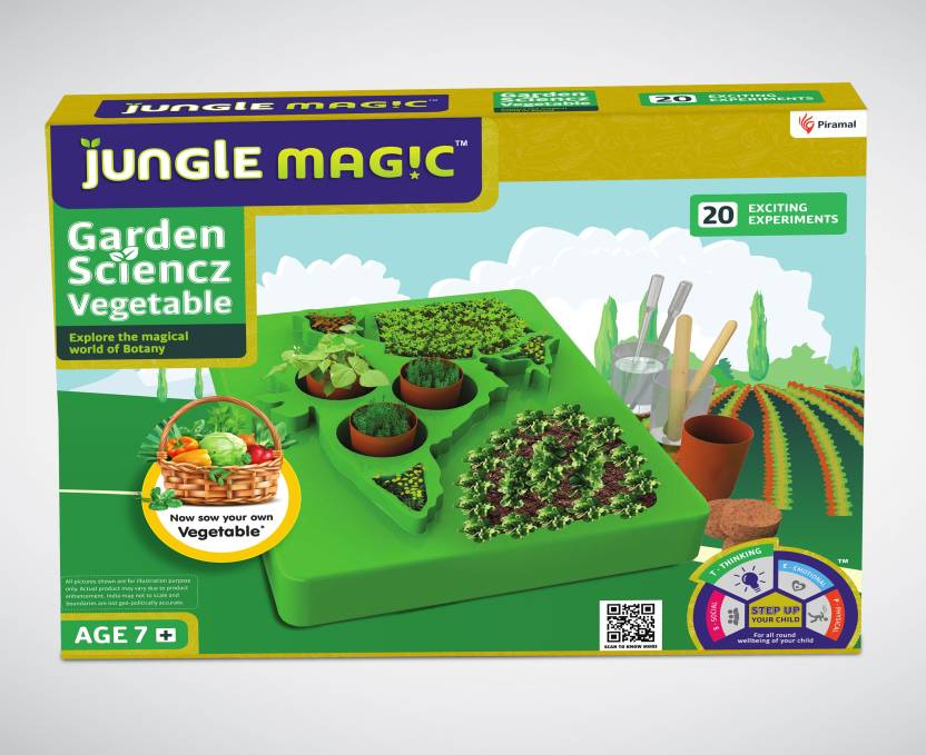 aec1d766 Jungle Magic Garden Sciencz Exciting Experiments Educational Games and Toys  For Kids (Vegetables) (Green). Be the first to ...