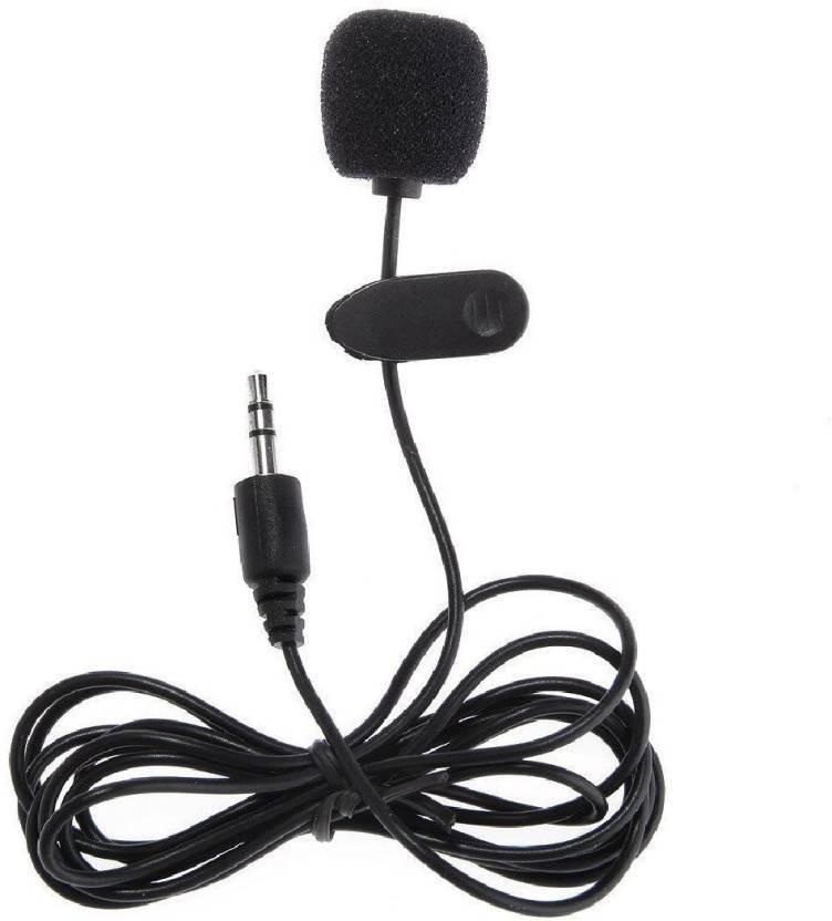 Mezire 3 5mm Mini Studio Speech Mic Microphone Clip For Pc Desktop