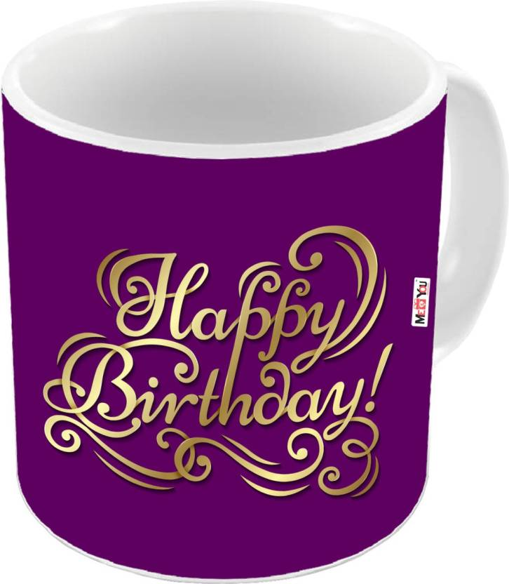 MEYOU Gift For Brother Sister Father Mother Friends On Birthday Gifts IZ18DTMU 407 Ceramic Mug 325 Ml