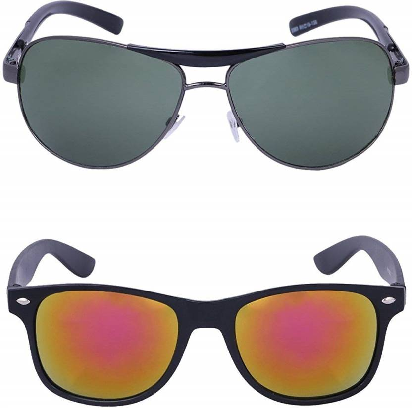 4786e35a97 Buy Ivonne Retro Square Sunglasses Green