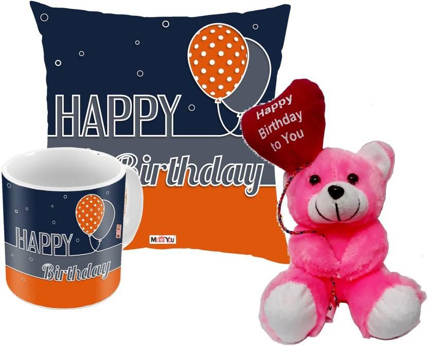 MEYOU Cushion Mug Soft Toy Gift Set
