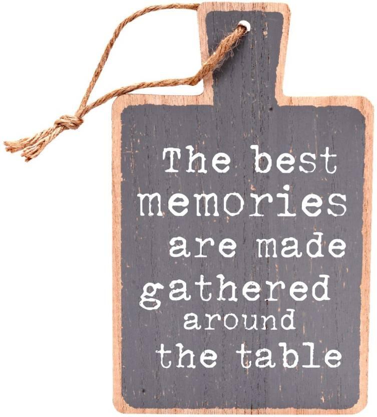608d134fcf1d Scrafts Best Memories Platter Shaped Wooden Wall Hanging/kitchen use ...