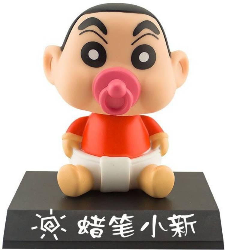 Toy Mela Cute Shichan Car Dashboard Bobble Head With Stand Cute