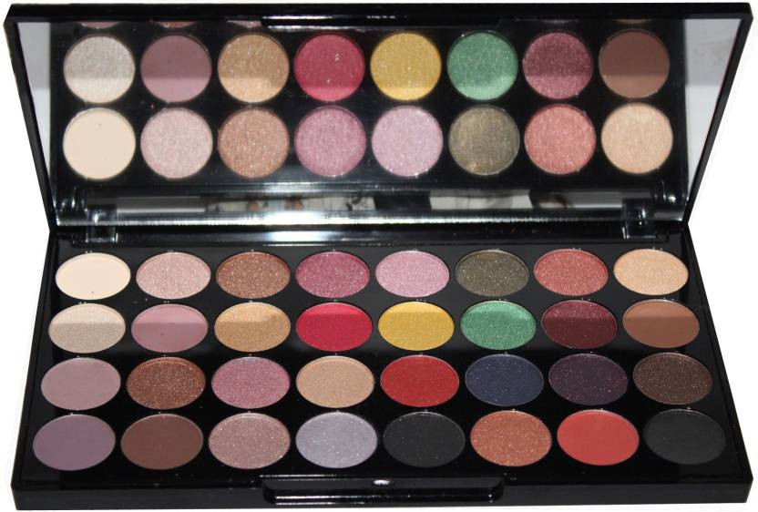 2e8e770ecff4 COLORS QUEEN Professional Romantic 32 Color Eye Shadow Palette 32 g ...