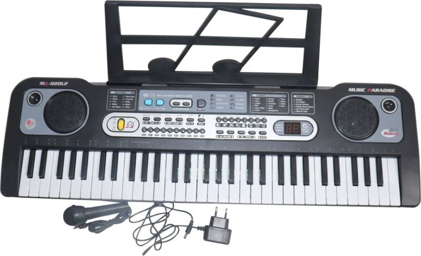 Mopi deluxe quality 61-keys Electronic Piano Keyboard with USB MP3