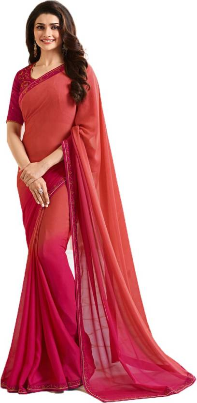 8f07789a4 Buy Bombey Velvat Fab Self Design Daily Wear Silk Red Sarees Online ...
