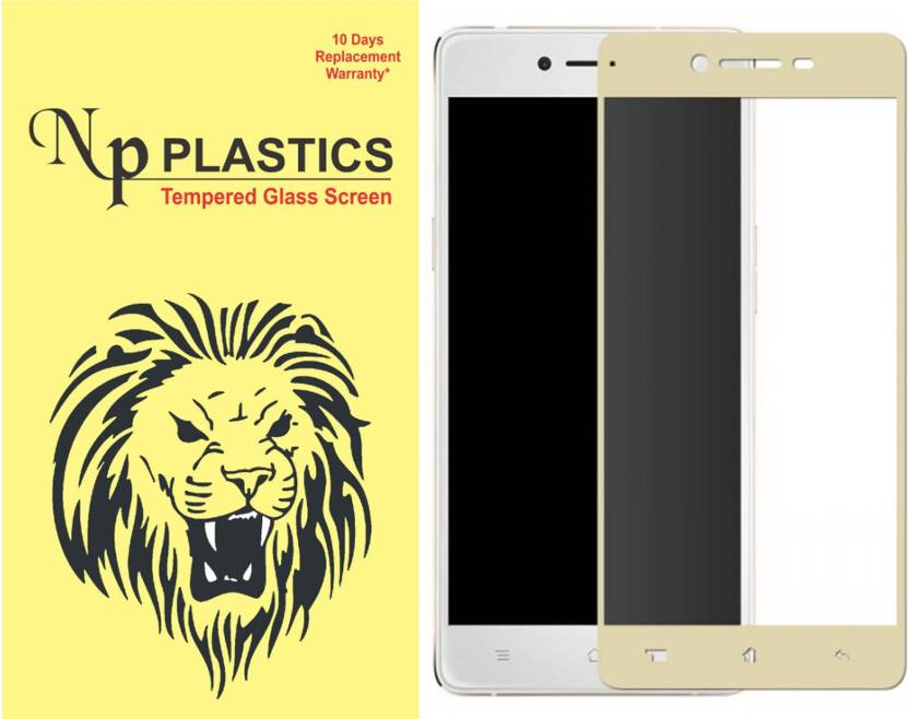 sports shoes 55909 69e4a npplastics Tempered Glass Guard for Oppo A37(full body cover Glass ...