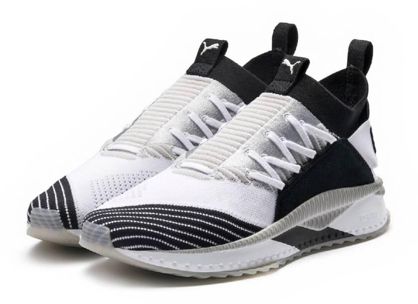 28aacc14a928 Puma Evoknit TSUGI Jun Cubism White Grey Training   Gym Shoes For Men  (White
