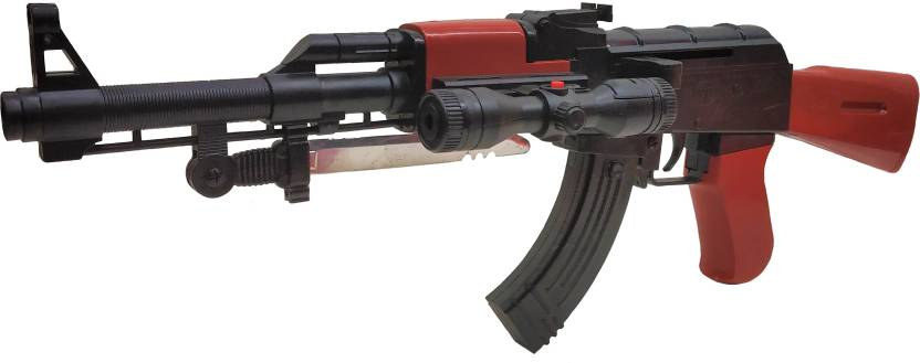 Darling Toys Super Arming Ak 47 Bb Toy Gun with Extra 6 mm Bullets