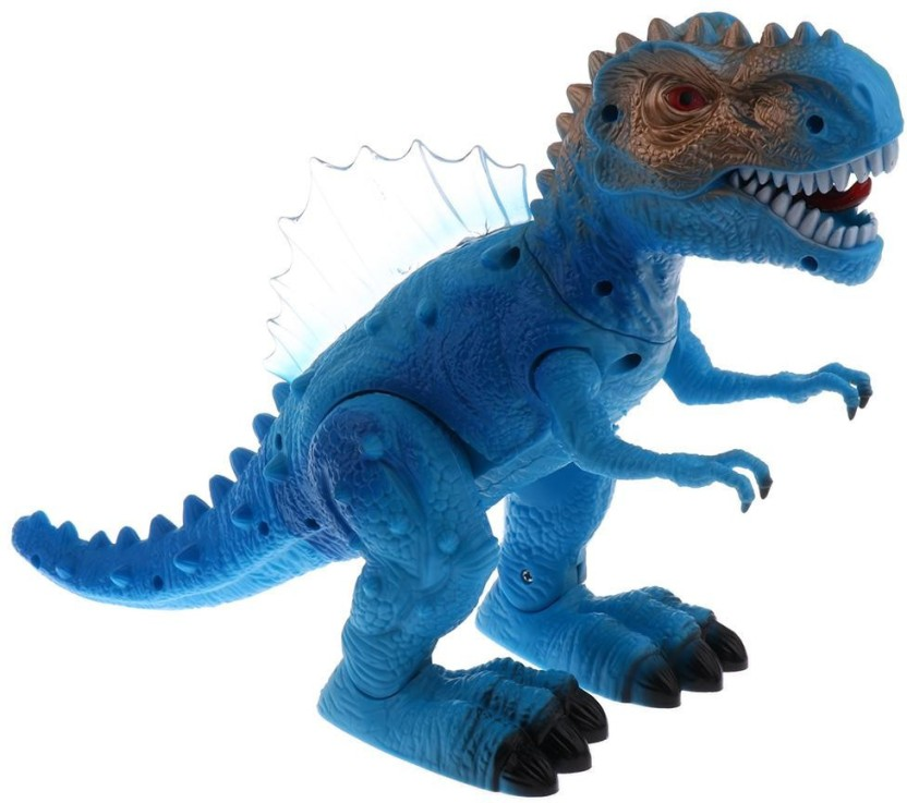 Kids Toy Walking Dinosaur T-Rex Action Figure Moving Lights Sounds Little Boys
