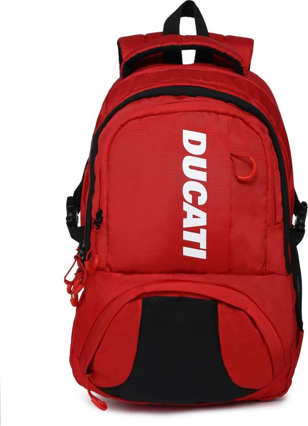 Ducati RIDER 19 L Laptop Backpack RED - Price in India  da18c2c1bece7