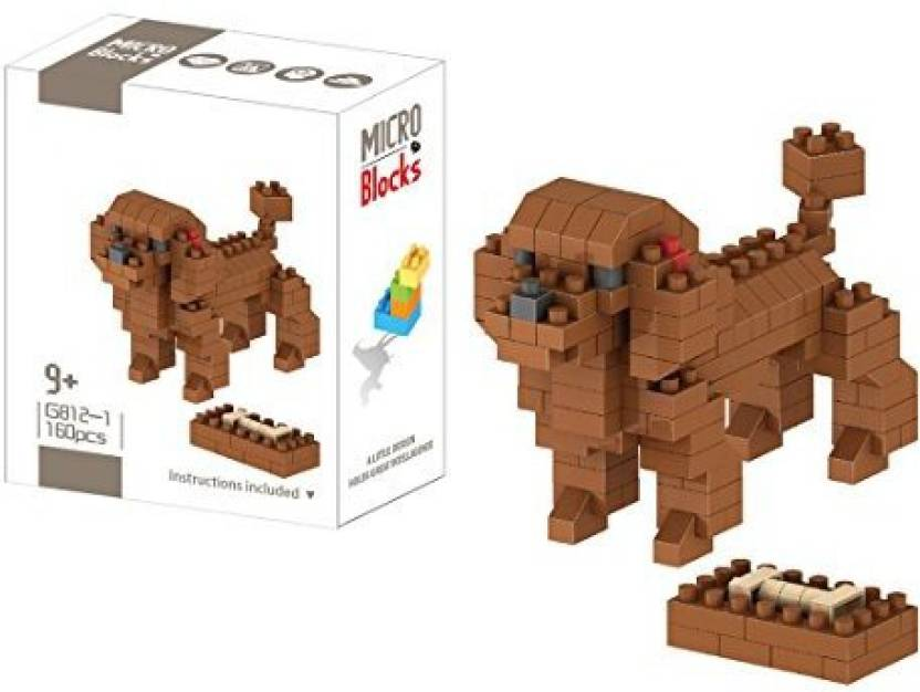 Genrc Kilotoy Fun Animals Building Blocks Educational Toy Stacking