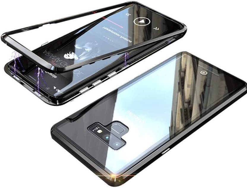 newest a81df 09760 Midkart Back Cover for Samsung Note 9 Clear Black Magnetic ...