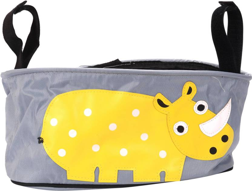 Scrafts Yellow Hippo Base Multifunctional Baby Stroller Organizer